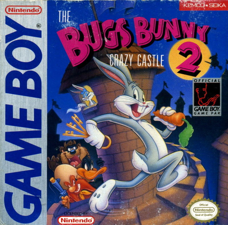 The Bugs Bunny Crazy Castle 2 Game Boy Front Cover