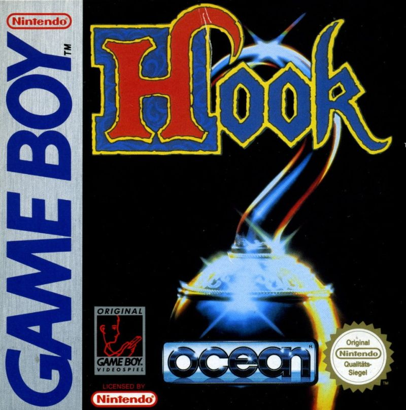 Hook Game Boy Front Cover