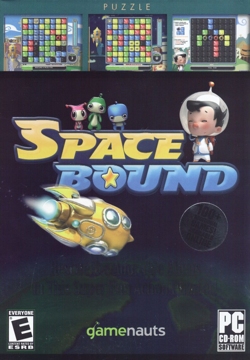 Spacebound Windows Front Cover