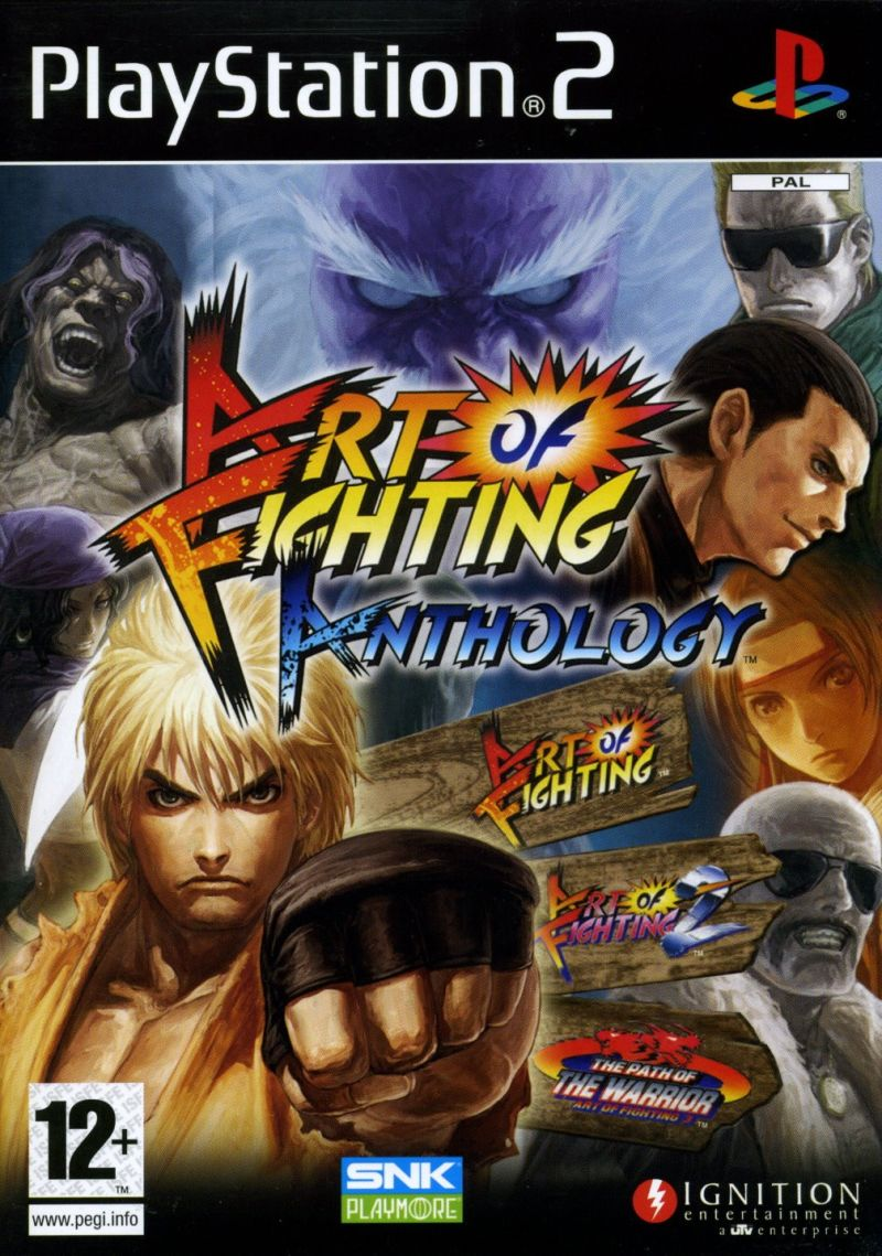 Art of Fighting Anthology PlayStation 2 Front Cover