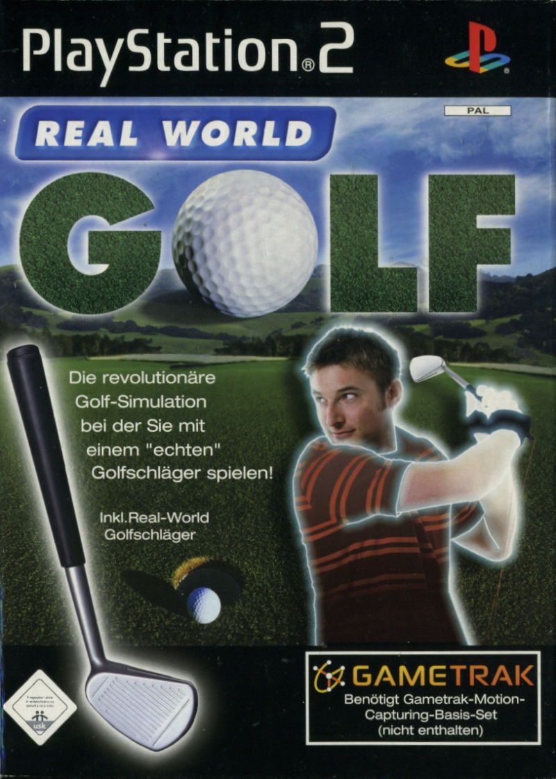 Real World Golf PlayStation 2 Front Cover
