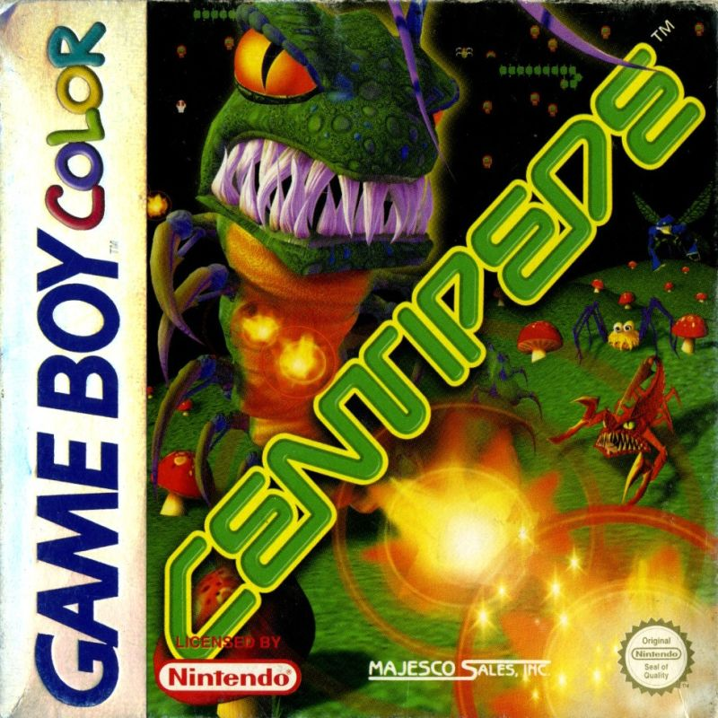 Centipede Game Boy Color Front Cover