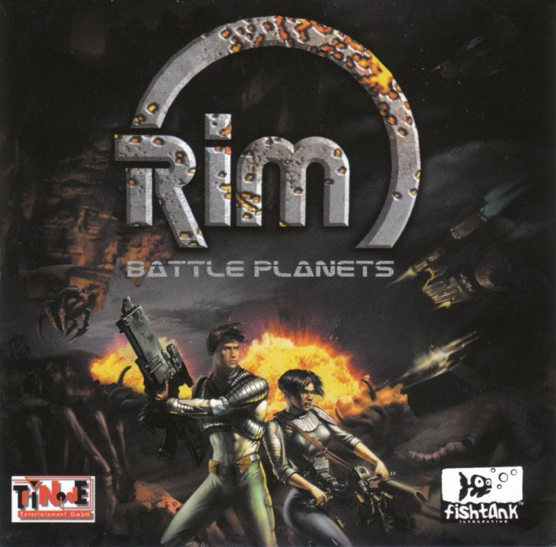 RIM: Battle Planets Windows Other Jewel Case - Front