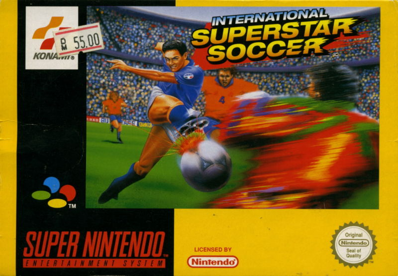 International Superstar Soccer SNES Front Cover