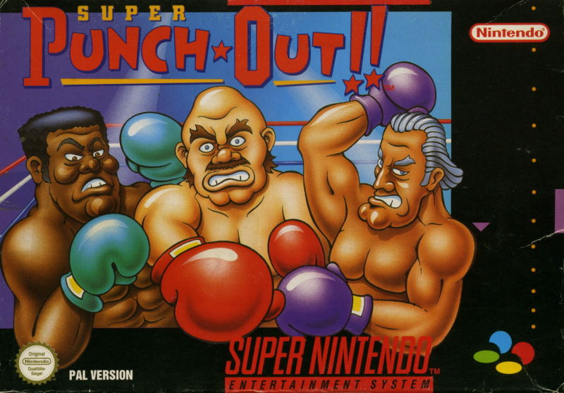 Super Punch-Out!! SNES Front Cover