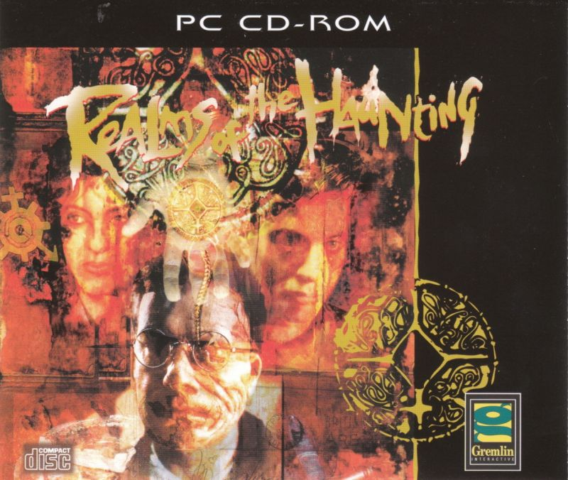 Realms of the Haunting DOS Other Jewel Case - Front