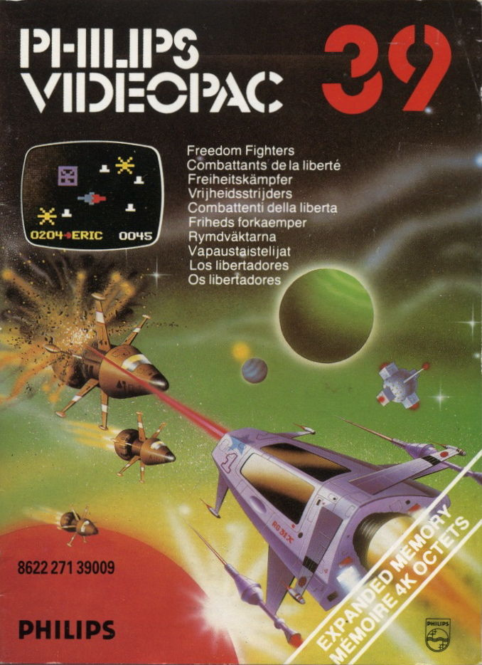 Freedom Fighters! Odyssey 2 Front Cover