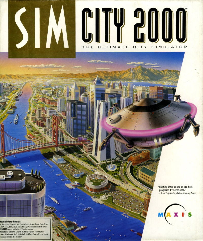 SimCity 2000 Macintosh Front Cover