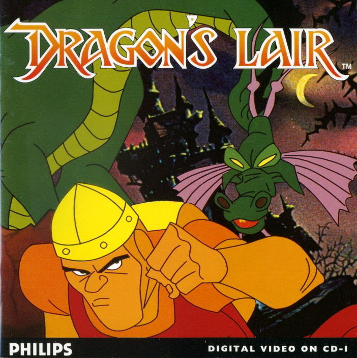 Dragon's Lair CD-i Front Cover