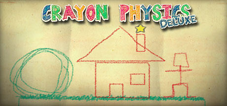 Crayon Physics Deluxe Macintosh Front Cover