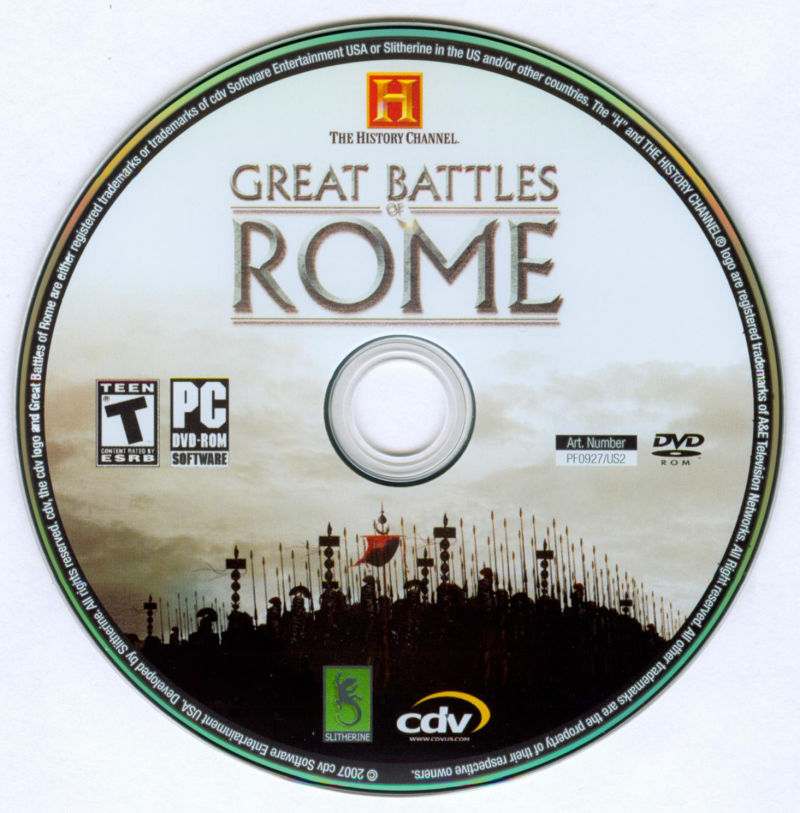 The History Channel: Great Battles of Rome Windows Media