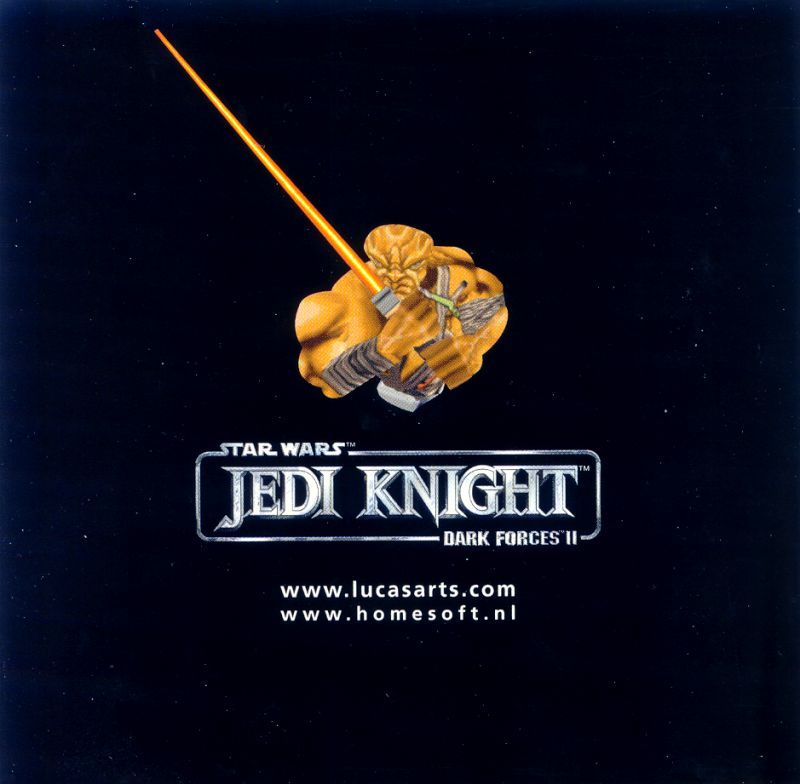 Star Wars: Jedi Knight - Dark Forces II Windows Media Jewel Case - Front Inside