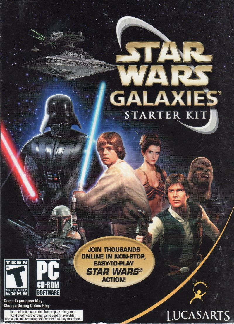 Star Wars: Galaxies - Starter Kit Windows Front Cover