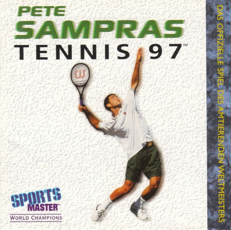 Pete Sampras Tennis 97 DOS Other Jewel Case - Front