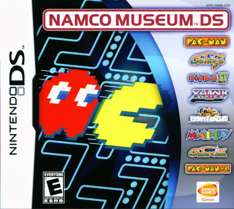 Namco Museum DS Nintendo DS Front Cover