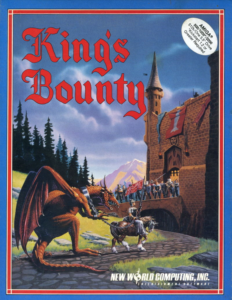 King's Bounty Amiga Front Cover