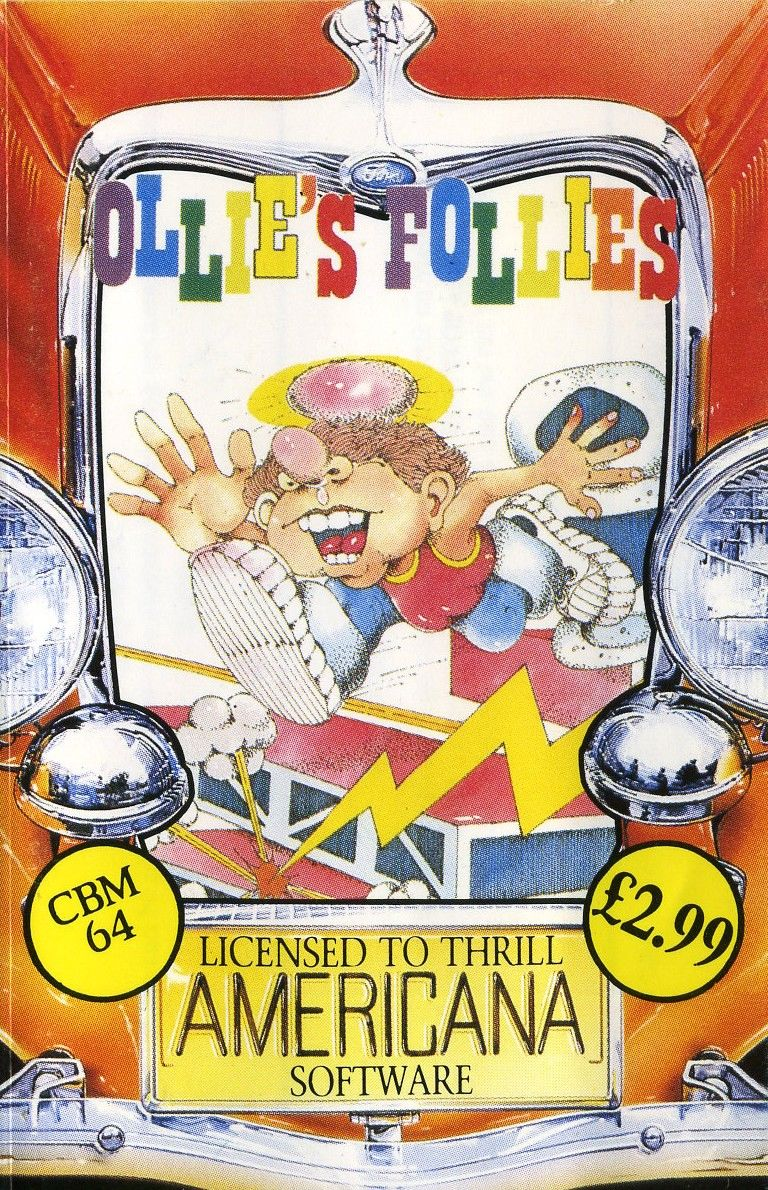 Ollie's Follies Commodore 64 Front Cover