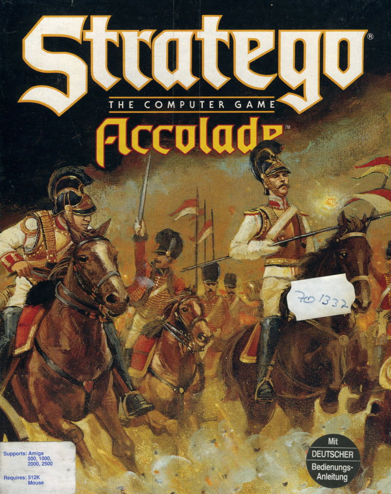 Stratego Amiga Front Cover