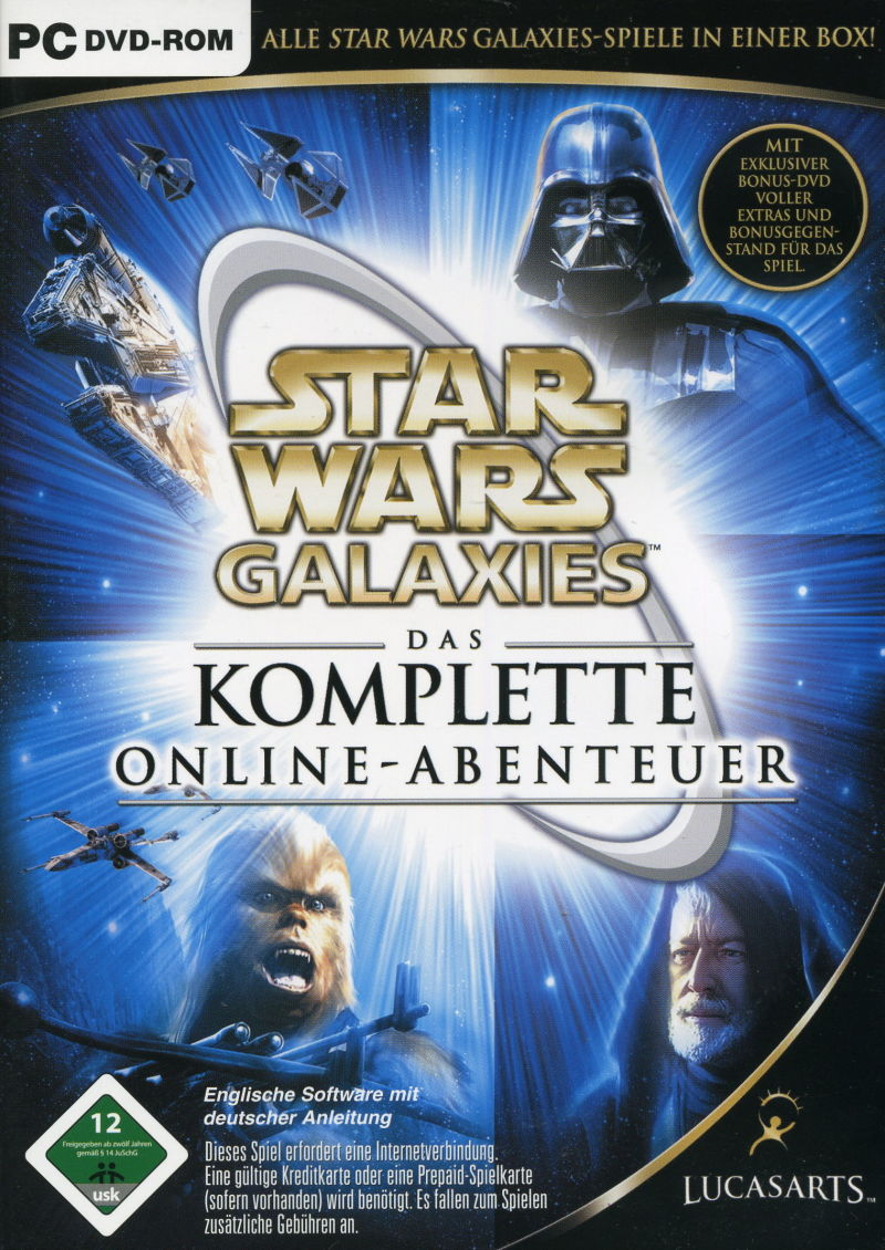 Star Wars: Galaxies - The Complete Online Adventures Windows Front Cover