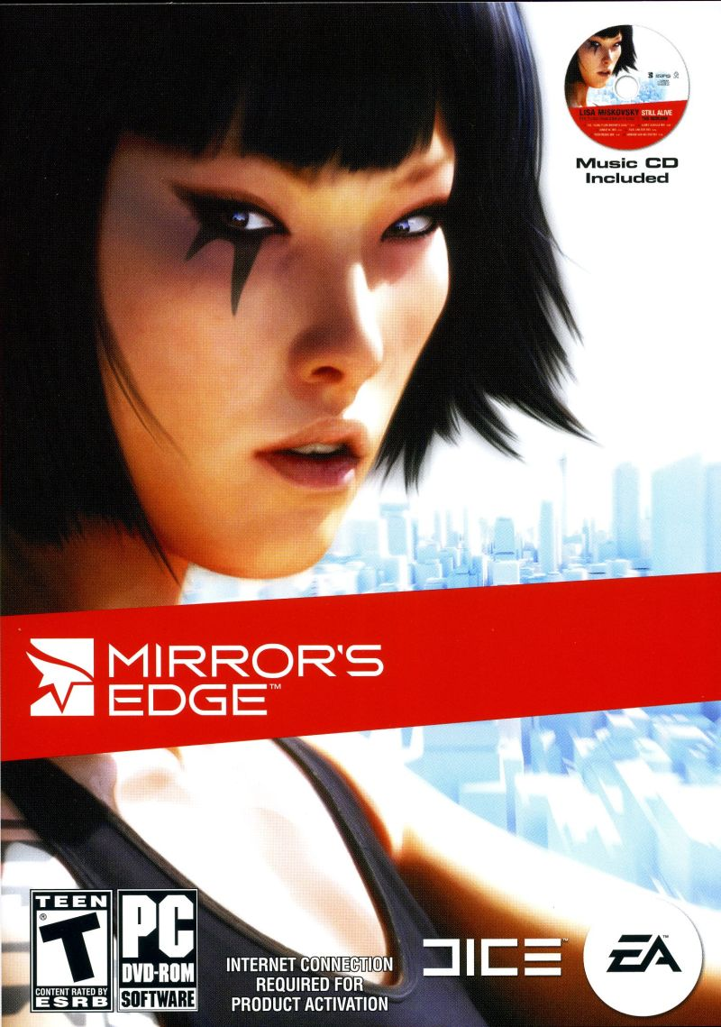 Mirror's Edge Windows Front Cover