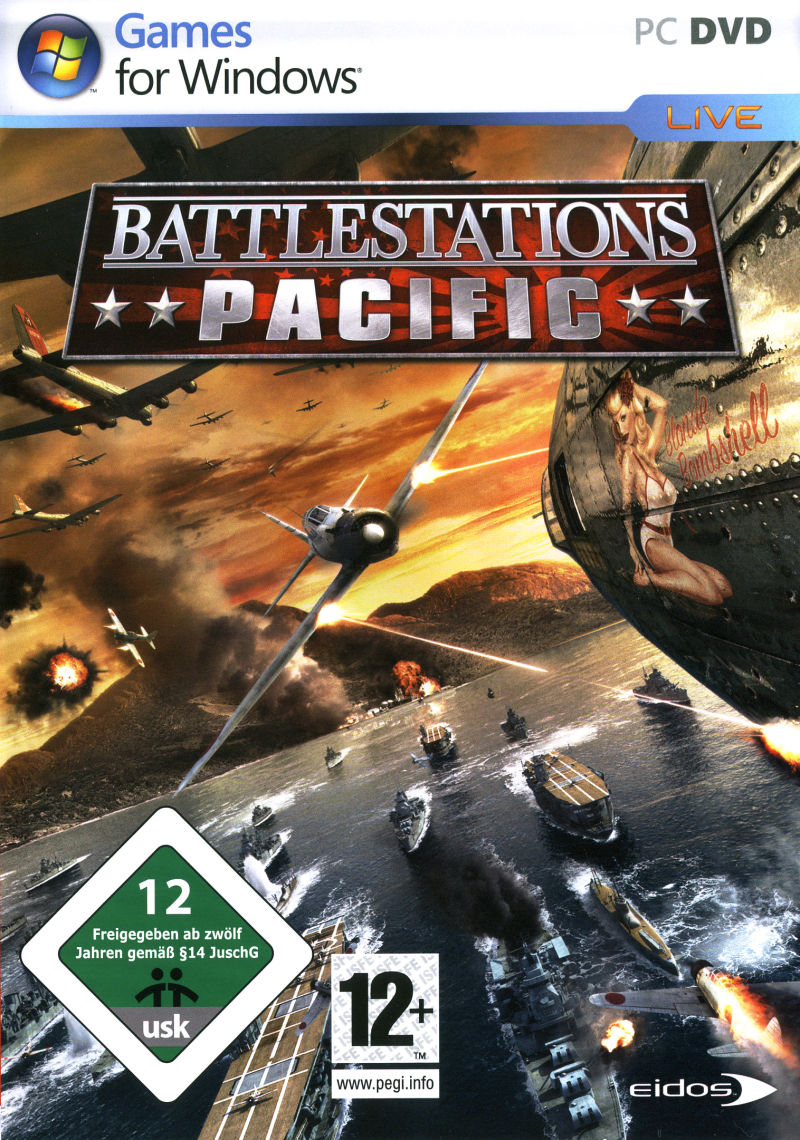 Battlestations: Pacific Windows Front Cover