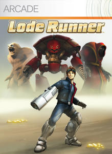 Lode Runner Xbox 360 Front Cover