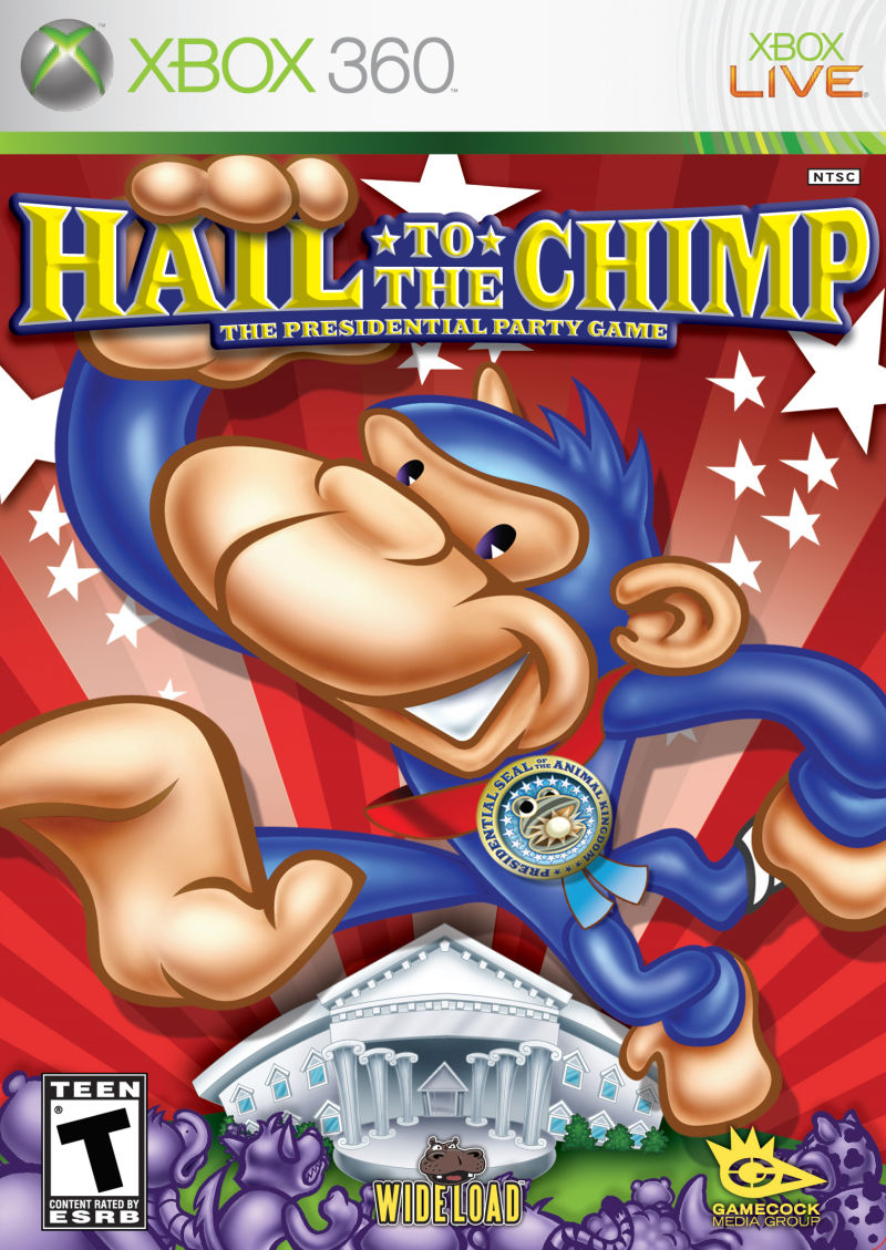 Hail to the Chimp Xbox 360 Front Cover