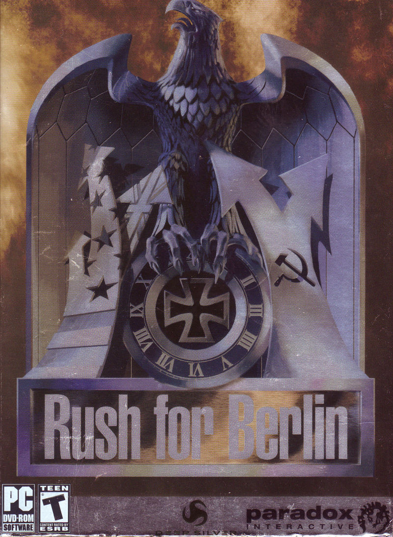 Rush for Berlin Windows Front Cover