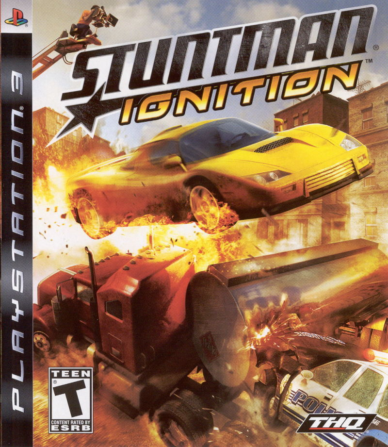 Stuntman: Ignition PlayStation 3 Front Cover
