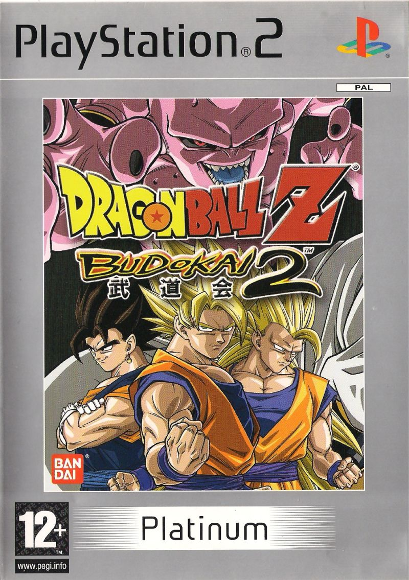 Dragon Ball Z: Budokai 2 PlayStation 2 Front Cover