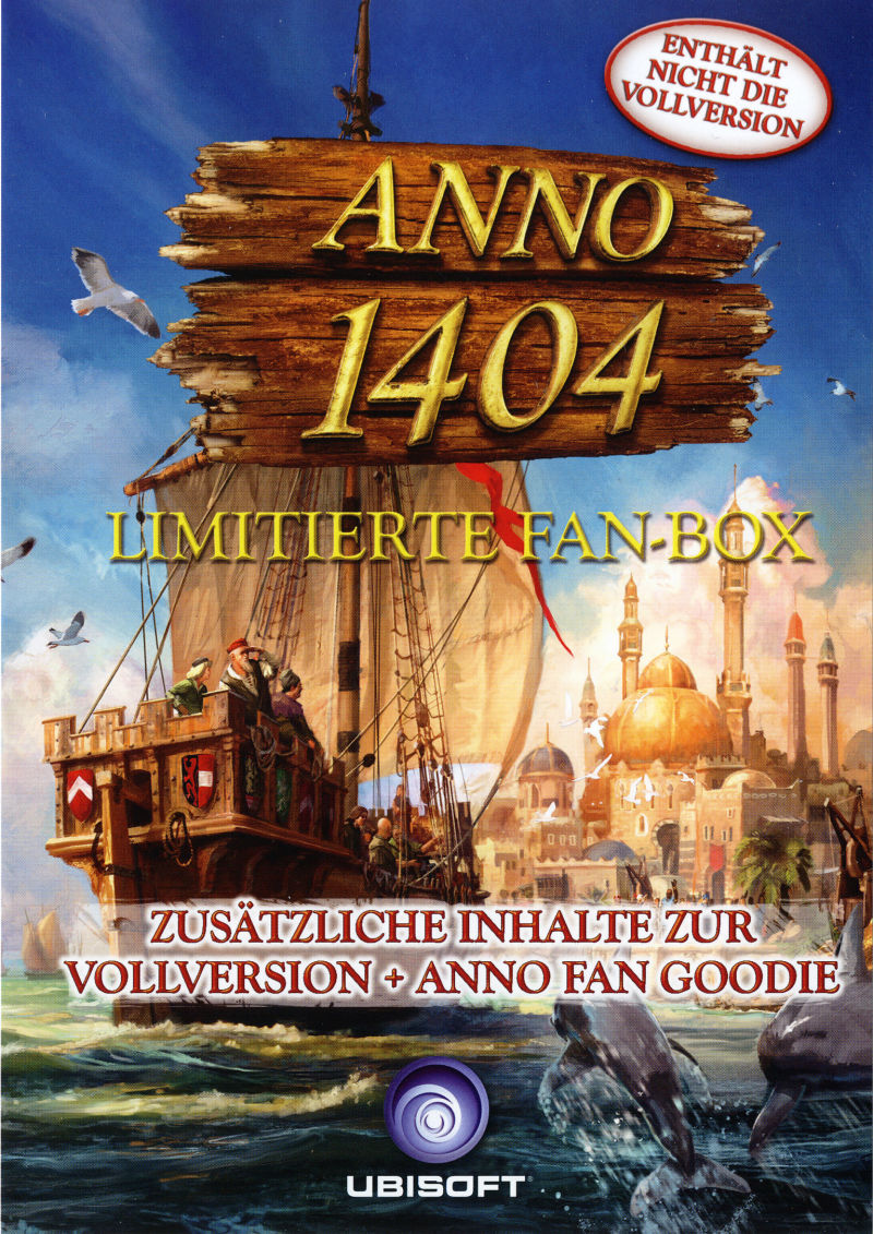 Anno 1404 (Pre-Order Pack) Windows Front Cover
