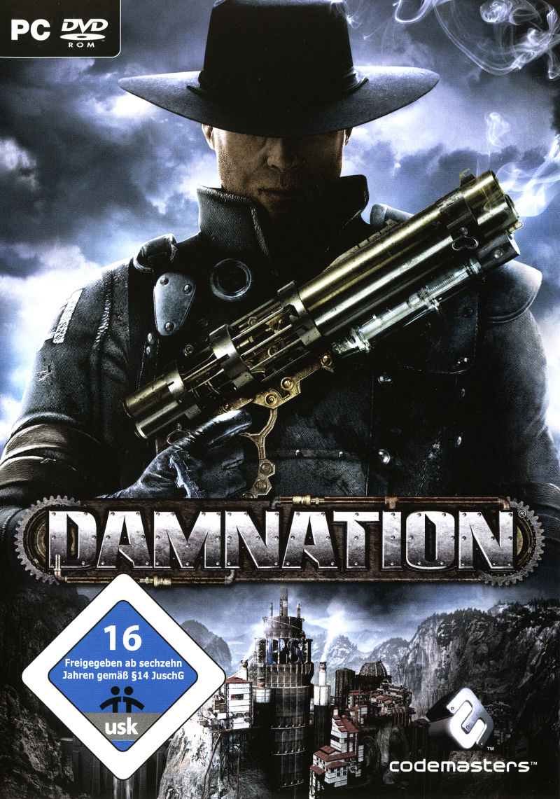 Damnation Windows Front Cover