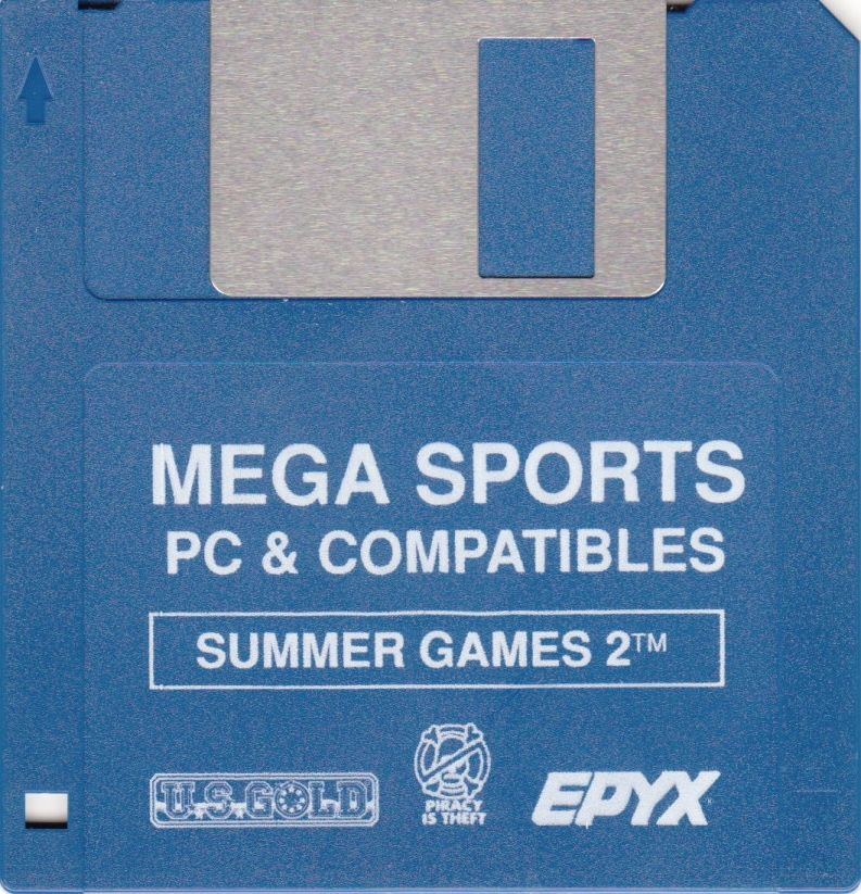 Mega Sports DOS Media Summer Games 2 - Disk