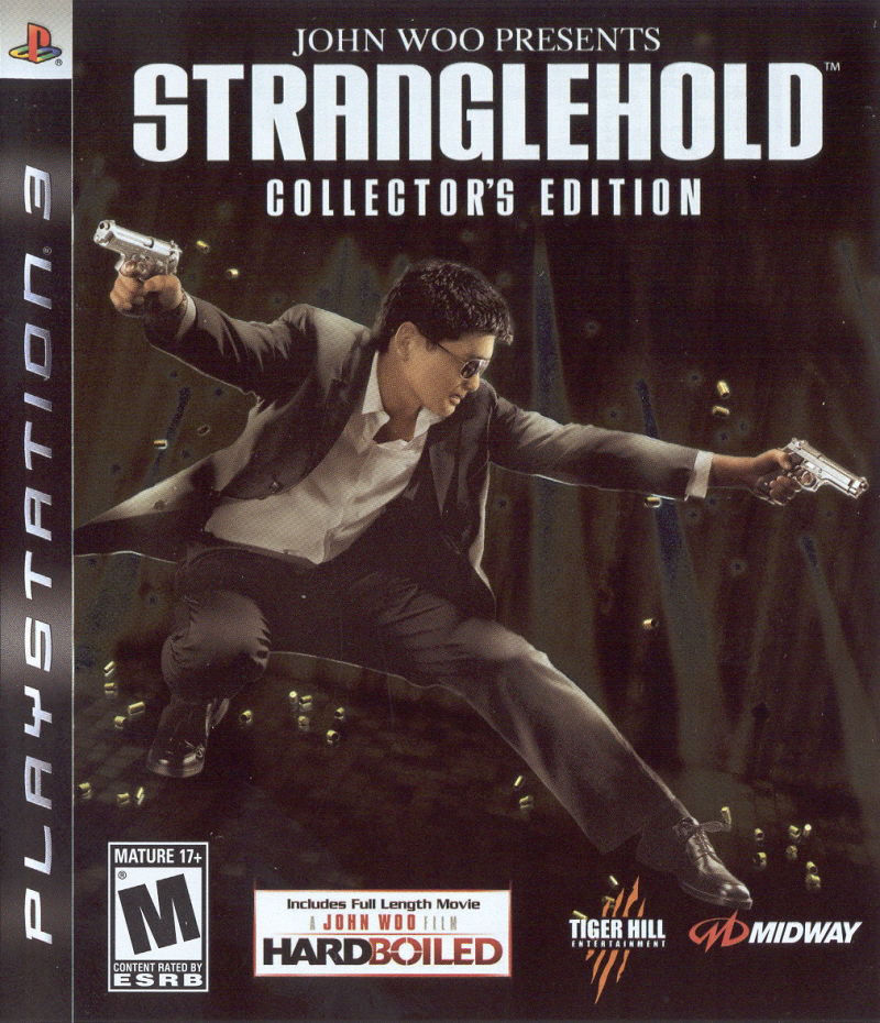 John Woo presents Stranglehold (Collector's Edition) PlayStation 3 Front Cover
