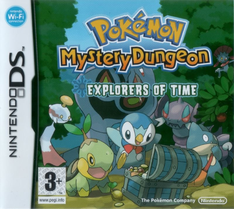 Pokémon Mystery Dungeon: Explorers of Time Nintendo DS Front Cover