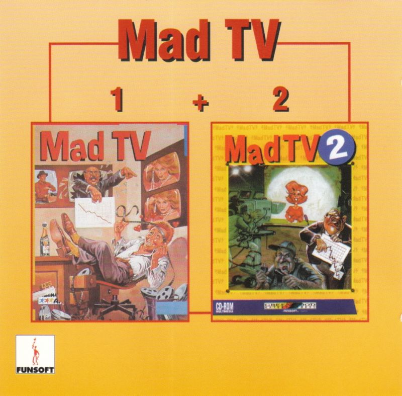 Mad TV 1 + 2 DOS Other Jewel Case - Front