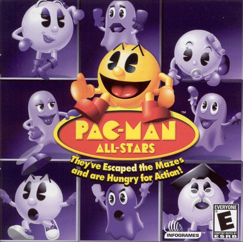Pac-Man All-Stars Windows Front Cover
