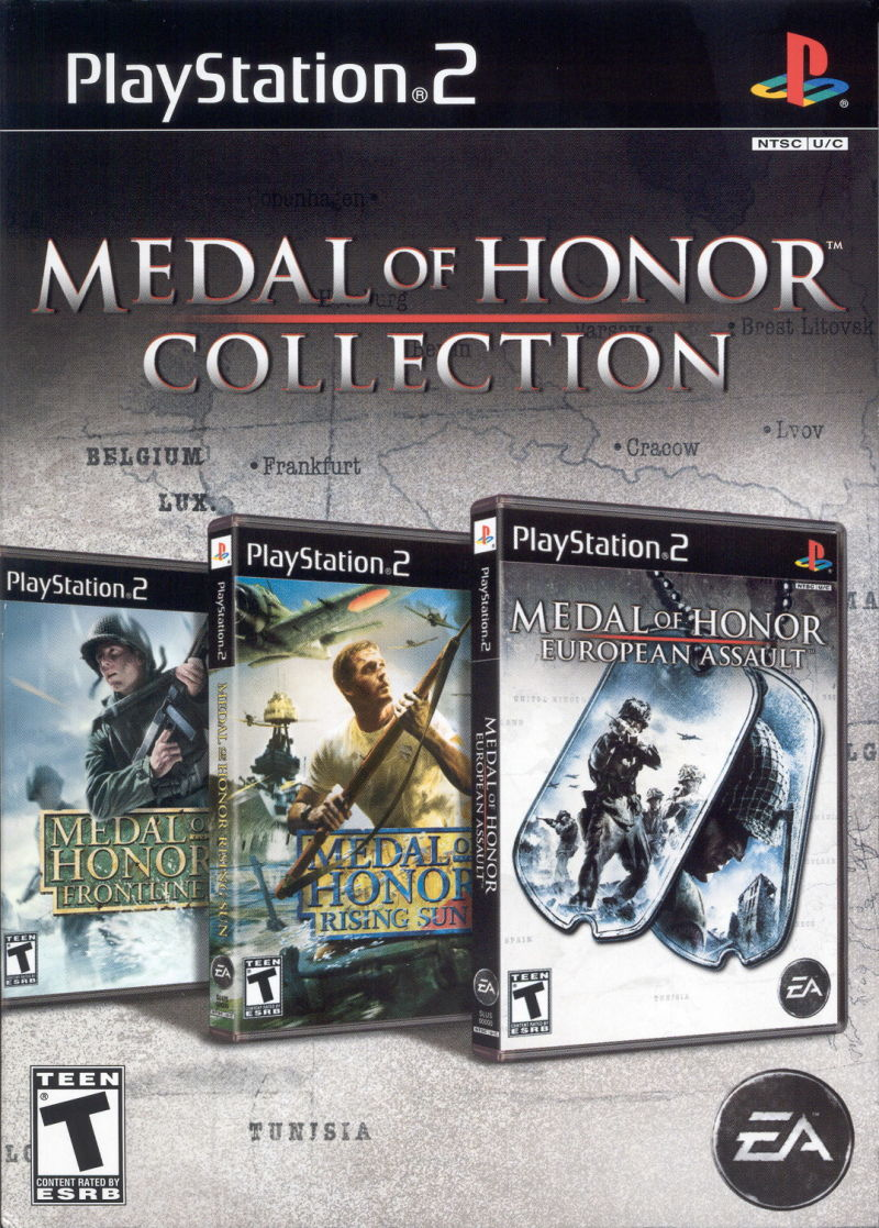 Medal of Honor Collection PlayStation 2 Front Cover