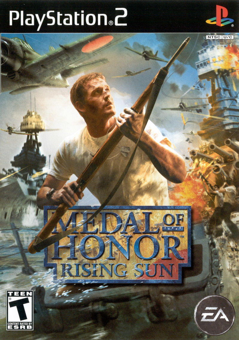 Medal of Honor Collection PlayStation 2 Other Medal of Honor: Rising Sun - Keep Case - Front