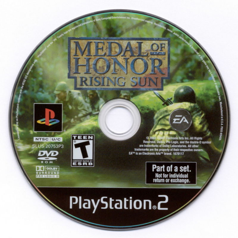 Medal of Honor Collection PlayStation 2 Media Medal of Honor: Rising Sun