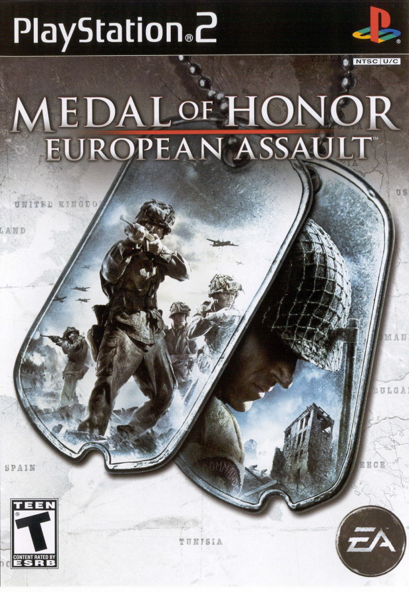 Medal of Honor Collection PlayStation 2 Other Medal of Honor: European Assault - Keep Case - Front