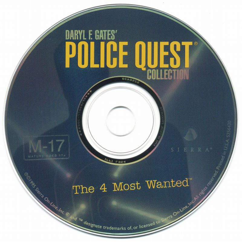 Daryl F. Gates' Police Quest Collection: The 4 Most Wanted DOS Media