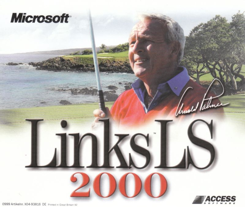 Links LS 2000 Windows Other Jewel Case - Front