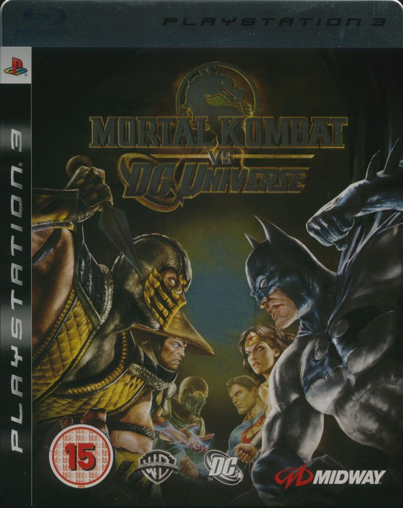 Mortal Kombat vs DC Universe (Kollector's Edition) PlayStation 3 Front Cover