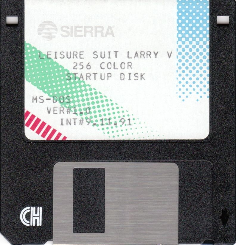 Leisure Suit Larry 5: Passionate Patti Does a Little Undercover Work DOS Media Startup Disk