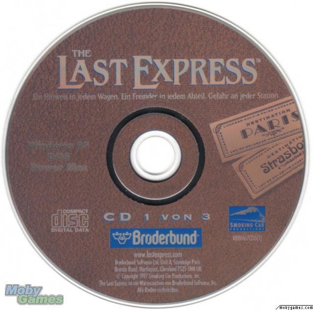 The Last Express DOS Media Disc 1