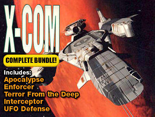 X-COM: Complete Pack DOS Front Cover