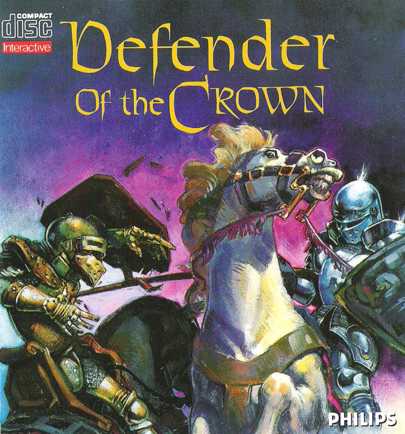 Defender of the Crown CD-i Front Cover