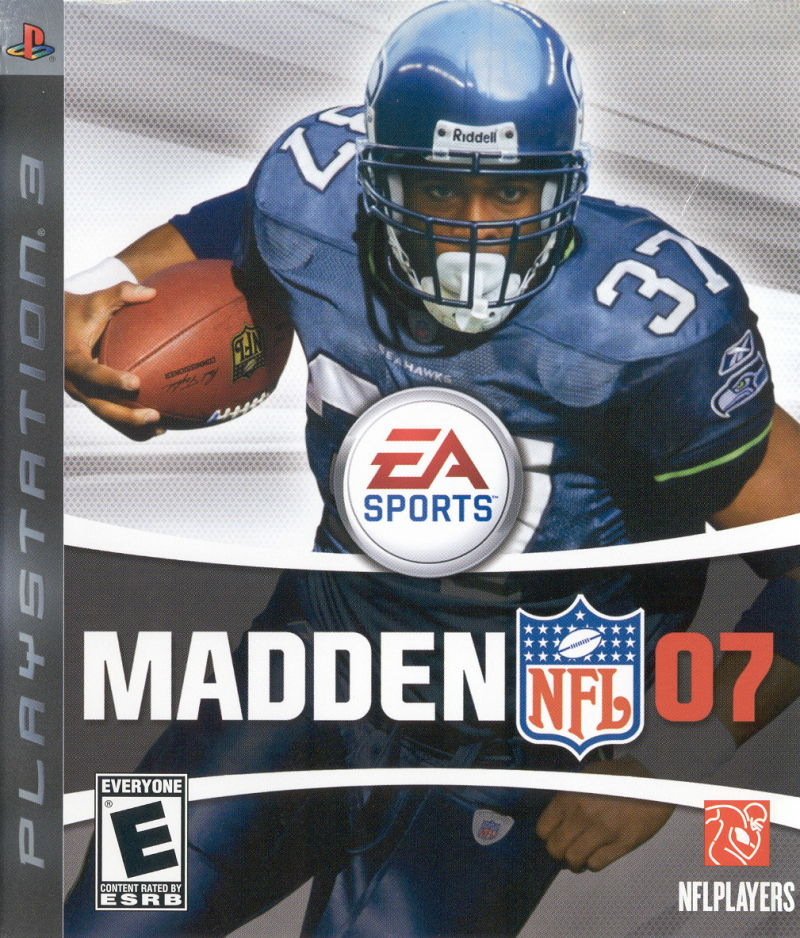 Madden NFL 07 PlayStation 3 Front Cover