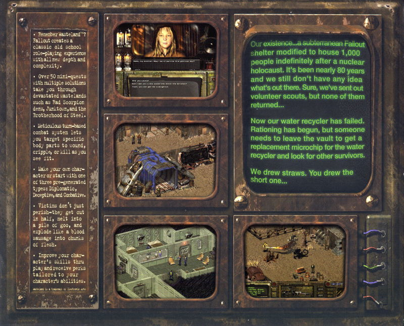 Fallout Windows Inside Cover Top Flap